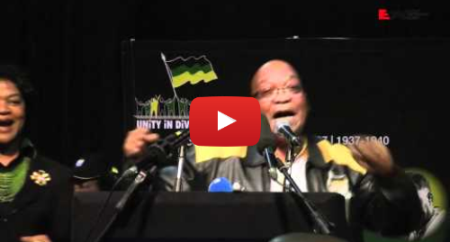 Youtube post by Eyewitness News: Zuma sings Umshini Wami at ANC Policy conference