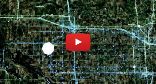 Youtube post by Whacky Rat: El Reno OK Tornado with SN Dots