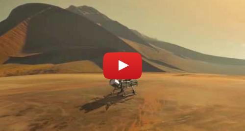 Publicación de Youtube por NASA Video: New Dragonfly Mission Flying Landing Sequence Animation