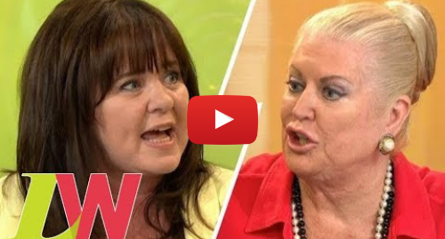 Youtube post by Loose Women: Kim Woodburn Walks Off After Reconciliation Plans With Coleen Nolan Go Sour | Loose Women