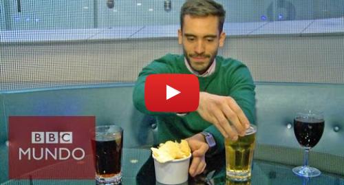 Publicación de Youtube por BBC News Mundo: ¿Sabes cuántas calorías tienen las bebidas alcohólicas?