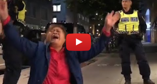Youtube 用户名 Doris Lee: Chinese tourists cry for help in Sweden   中国游客在瑞典街头哭喊救命