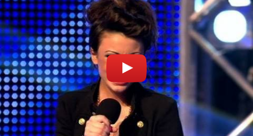 Youtube post by The X Factor UK: Cher Lloyd's X Factor Audition (Full Version) - itv.com/xfactor