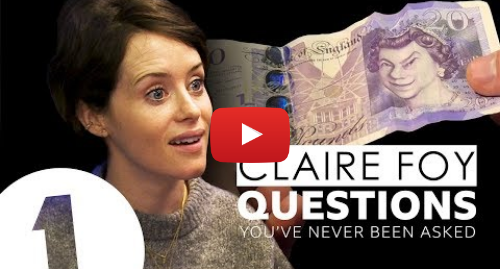 Youtube post by BBC Radio 1: The Crown's Claire Foy answers questions she's never been asked