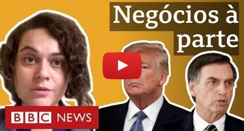 YouTube post de BBC News Brasil: O que está por trás da decisão de Trump que prejudica aço brasileiro