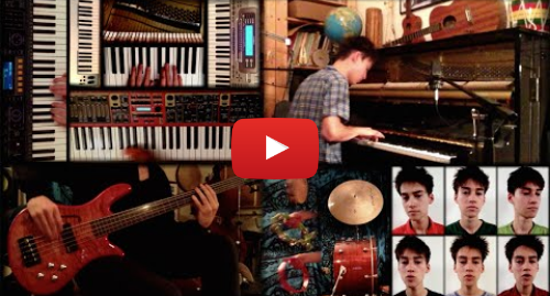 Youtube post by Jacob Collier: Fascinating Rhythm - Jacob Collier