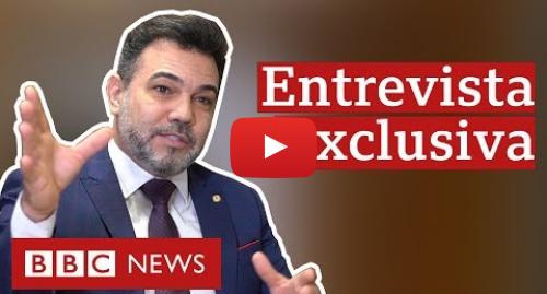 YouTube post de BBC News Brasil: 'Desafio a me mostrar um cristão que tenha cometido a tal da homofobia', diz Feliciano