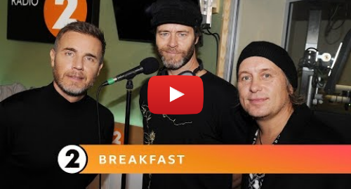 Youtube post by BBC Music: Take That - Never Enough (The Greatest Showman Cover) - Radio 2 Breakfast Show Session