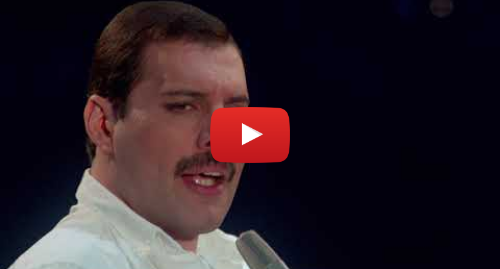 Youtube post by Freddie Mercury Solo: Freddie Mercury - Time Waits For No One (Official Video)
