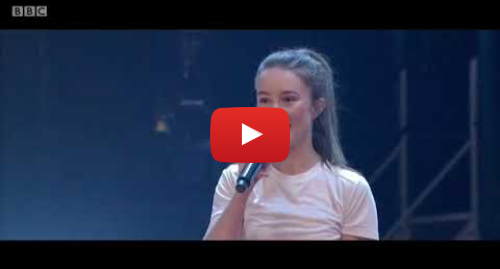 Youtube post by Ovid: Sigrid - Strangers. The Graham Norton Show. BBC1. 19 Jan 2018
