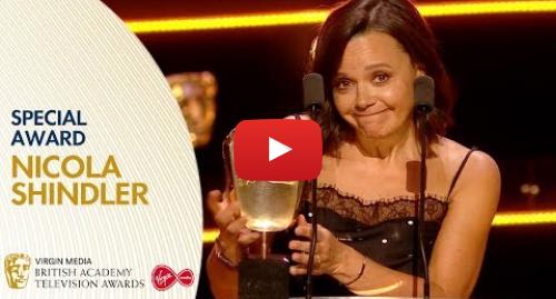 Youtube post by BAFTA: Nicola Shindler Wins the Special Award   BAFTA TV Awards 2019