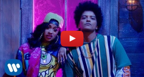 Youtube post by Bruno Mars: Bruno Mars - Finesse (Remix) [Feat. Cardi B] [Official Video]