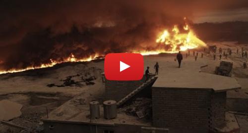 Publicación de Youtube por BBC News Mundo: VIDEO 360  Dentro de los pozos de petróleo quemados por Estado Islámico en Irak