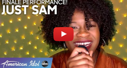 Youtube post by American Idol: WOW! Just Sam Gives a Strong Performance Of A Kelly Clarkson Bop - American Idol 2020