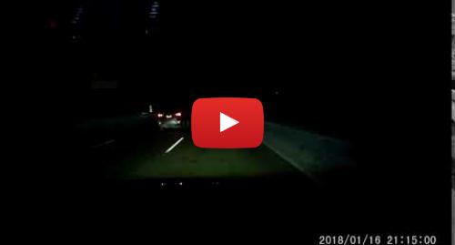 Publicación de Youtube por Mike Austin: Michigan Meteor Jan 16 2018