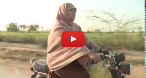 Youtube post by BBC News Punjabi: Women Bike Rider in Pakistan   BBC NEWS PUNJABI