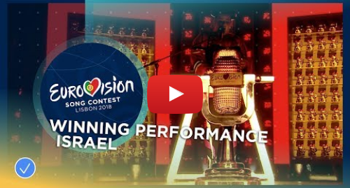 Youtube post by Eurovision Song Contest: WINNING PERFORMANCE - Netta - Toy - Israel - 2018 Eurovision Song Contest