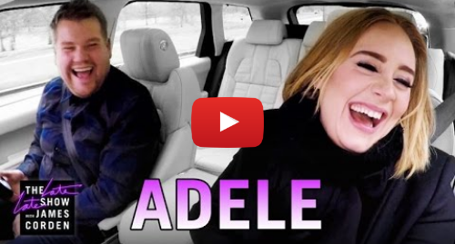Youtube post by The Late Late Show with James Corden: Adele Carpool Karaoke