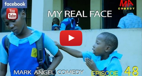 Youtube post by MarkAngelComedy: MY REAL FACE (Mark Angel Comedy) (Episode 48)