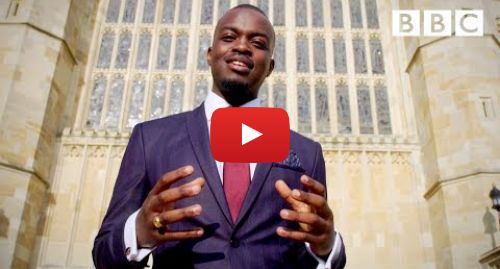 Youtube post by BBC: The Beauty of Union by George the Poet - The Royal Wedding - BBC