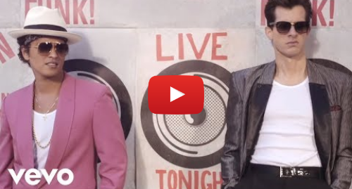 Youtube post by MarkRonsonVEVO: Mark Ronson - Uptown Funk (Official Video) ft. Bruno Mars