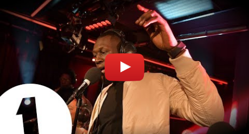 Youtube post by BBC Radio 1: Stormzy - Blinded By Your Grace in the Live Lounge