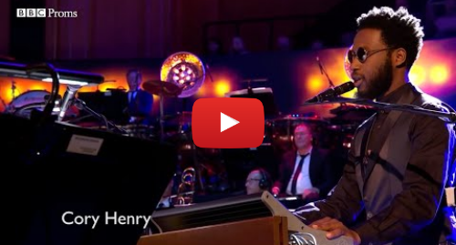 "Youtube post by Cory Henry: Cory Henry Performing ""Billie Jean"" on BBC Proms"