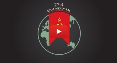 Publicación de Youtube por BBC News Mundo: 4 cifras sobre la dimensión y el poder de la URSS y Estados Unidos