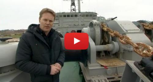 """Youtube допис, автор: BBC News Україна: Як блокада кораблів росіянами виглядає з борту """"Славутича"""""""
