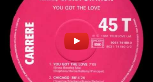 Youtube post by Shrinechick88: The Source Ft. Candi Station, You Got The Love - 1991