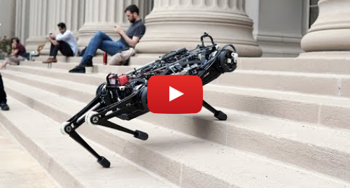 پست یوتیوب از Massachusetts Institute of Technology (MIT): Vision-free MIT Cheetah
