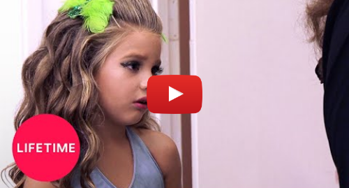 Youtube post by Lifetime: Dance Moms  Mackenzie Doesn't Feel Ready to Perform (Season 1 Flashback) | Lifetime