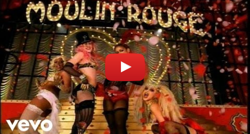 Youtube post by CAguileraVEVO: Christina Aguilera, Lil' Kim, Mya, Pink - Lady Marmalade (Official Music Video)