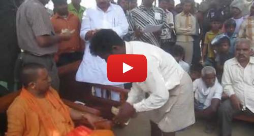 Youtube post by Vinay Kumar Gautam: Yogi Adityanath_0416.AVI