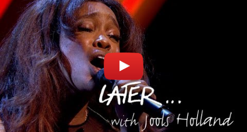 Youtube post by BBC Music: SZA - Normal Girl - Later… with Jools Holland - BBC Two