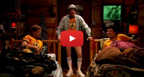 """Youtube post by The Tonight Show Starring Jimmy Fallon: Young Jimmy Fallon & Justin Timberlake Sing """"Africa"""" At Summer Camp"""