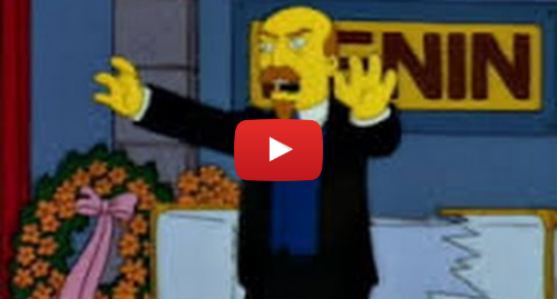 Youtube пост, автор: Red Star Videos: The Simpsons Go FULL COMMUNIST!