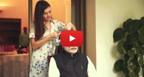 Youtube post by Madame Tussauds London: Narendra Modi's sitting| Madame Tussauds London