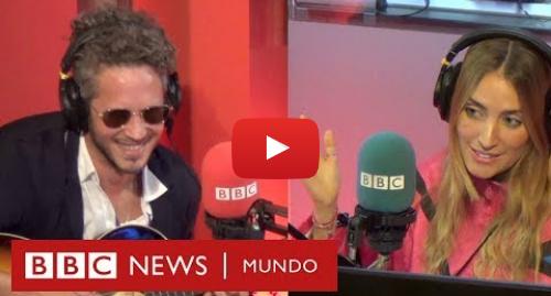 Publicación de Youtube por BBC News Mundo: Entrevista con el músico dominicano Vicente García | BBC Mundo