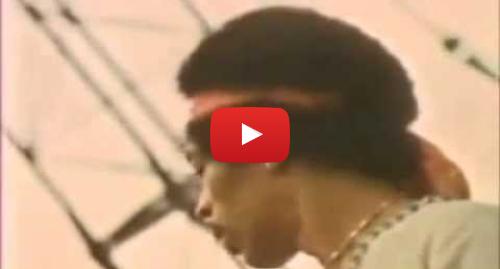 Youtube пост, автор: EDUARDO DYABLO: Jimi Hendrix   The Star Spangled Banner  American Anthem   Live at Woodstock 1969