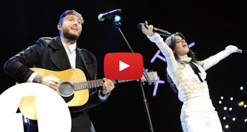 Youtube post by BBC Radio 1: Camila Cabello and James Arthur - Say You Won't Let Go (Radio 1's Teen Awards 2017)