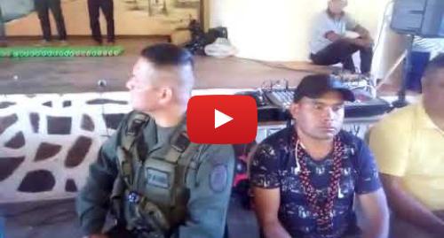 Publicación de Youtube por Cuenta oficial Fundación Nativo: El pueblo pemón entrega armas incautadas