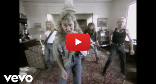 Youtube post by DefLeppardVEVO: Def Leppard - Pour Some Sugar On Me (version 1  UK concept)