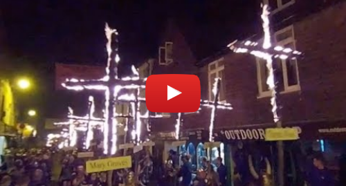 Youtube post by BBC South East: 360 video  Lewes bonfire