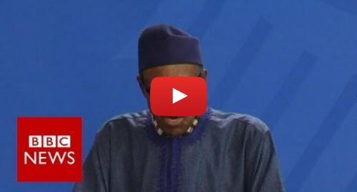 Youtube post by BBC News: Nigerian President  My wife belongs to my kitchen - BBC News