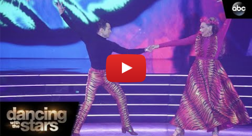 Youtube post by Dancing With The Stars: Carole Baskin's Paso – Dancing with the Stars
