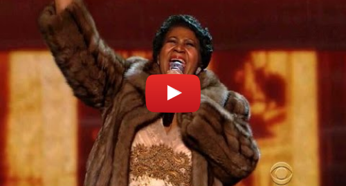 Youtube post by BuddyBroadway: Aretha Franklin (You Make Me Feel Like) A Natural Woman - Kennedy Center Honors 2015