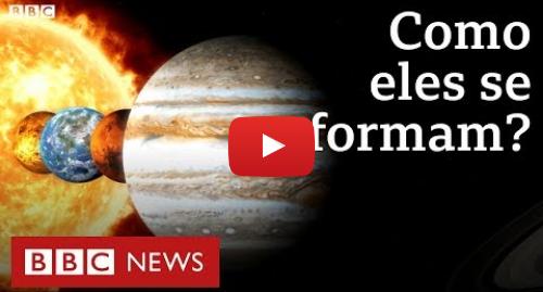 YouTube post de BBC News Brasil: Nasa revela descoberta sobre como planetas do Sistema Solar se formaram