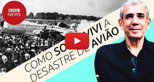YouTube post de BBC News Brasil: Ricardo Trajano, o único passageiro a sobreviver a acidente com avião da Varig em 1973