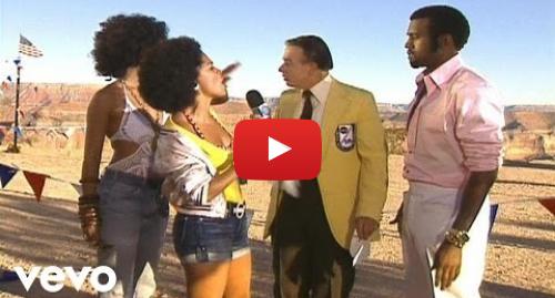 Youtube post by KanyeWestVEVO: Kanye West - Touch The Sky (MTV Version) ft. Lupe Fiasco